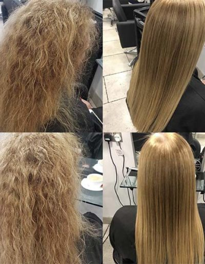 Brazilian Blow Dry treatment