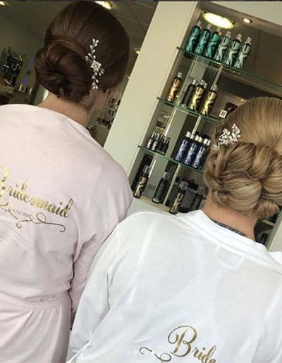 Hairup for wedding