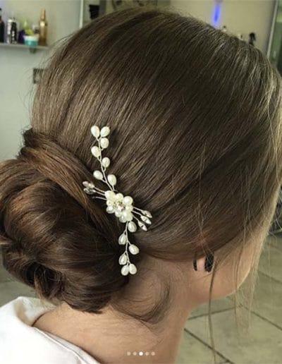Hairup for wedding