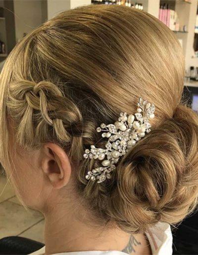 Hairup for a bride