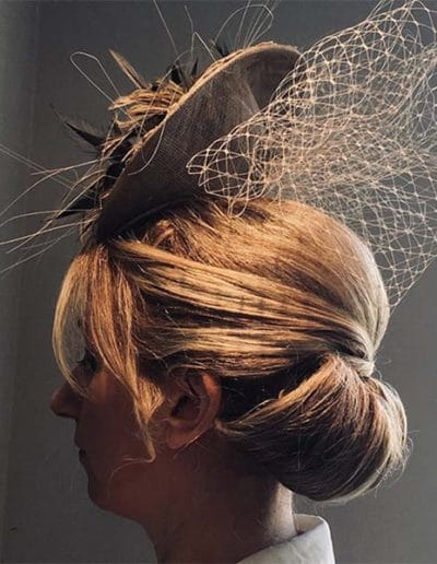 Hairstyle for Ascot racing day