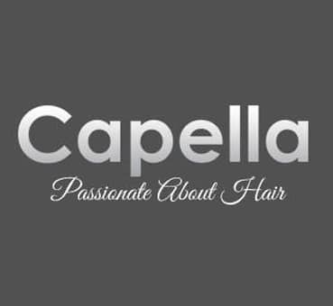 logo for Capella Hair salon